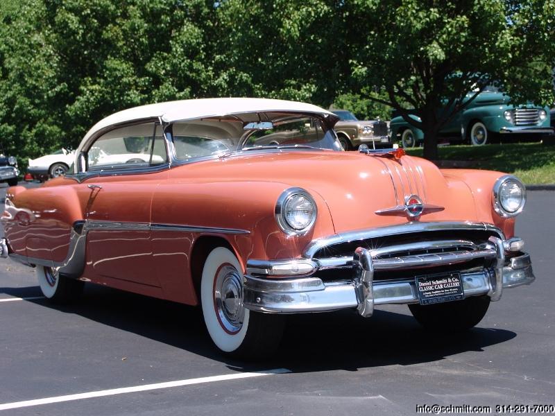 1954 Pontiac Starchief Hardtop Coupe Daniel Schmitt
