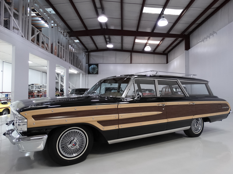 1964 Ford Country Squire Station Wagon daniel schmitt & co classic cars for sale