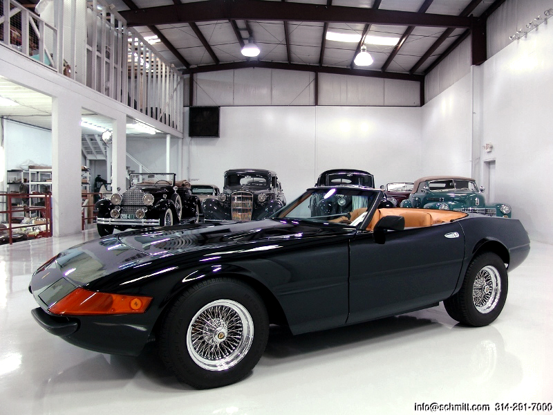 1971 Ferrari Daytona Spider Replica For Sale Daniel Schmitt Co