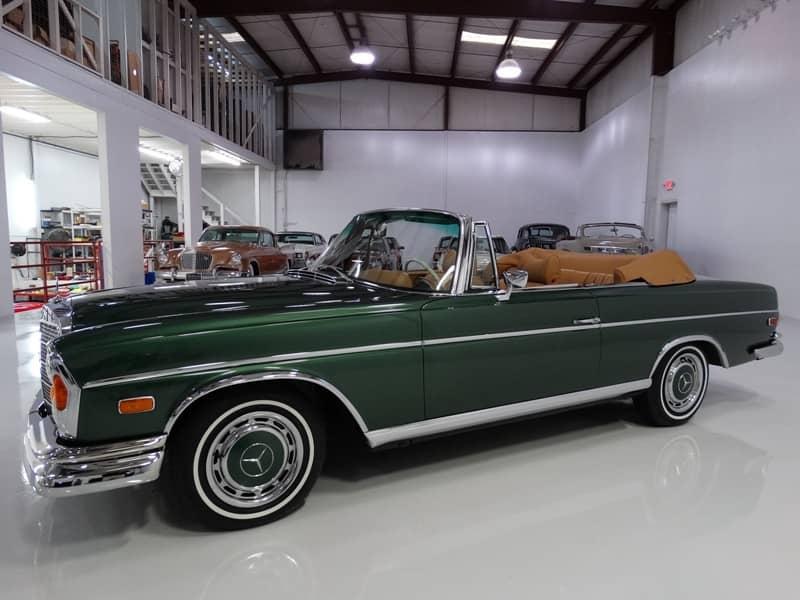 1970 mercedes benz 280se cabriolet daniel schmitt company for 1970 mercedes benz 280se