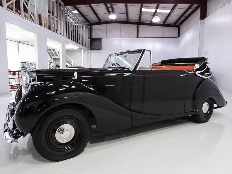 1951 Bentley Mark VI James Young Drophead Coupe