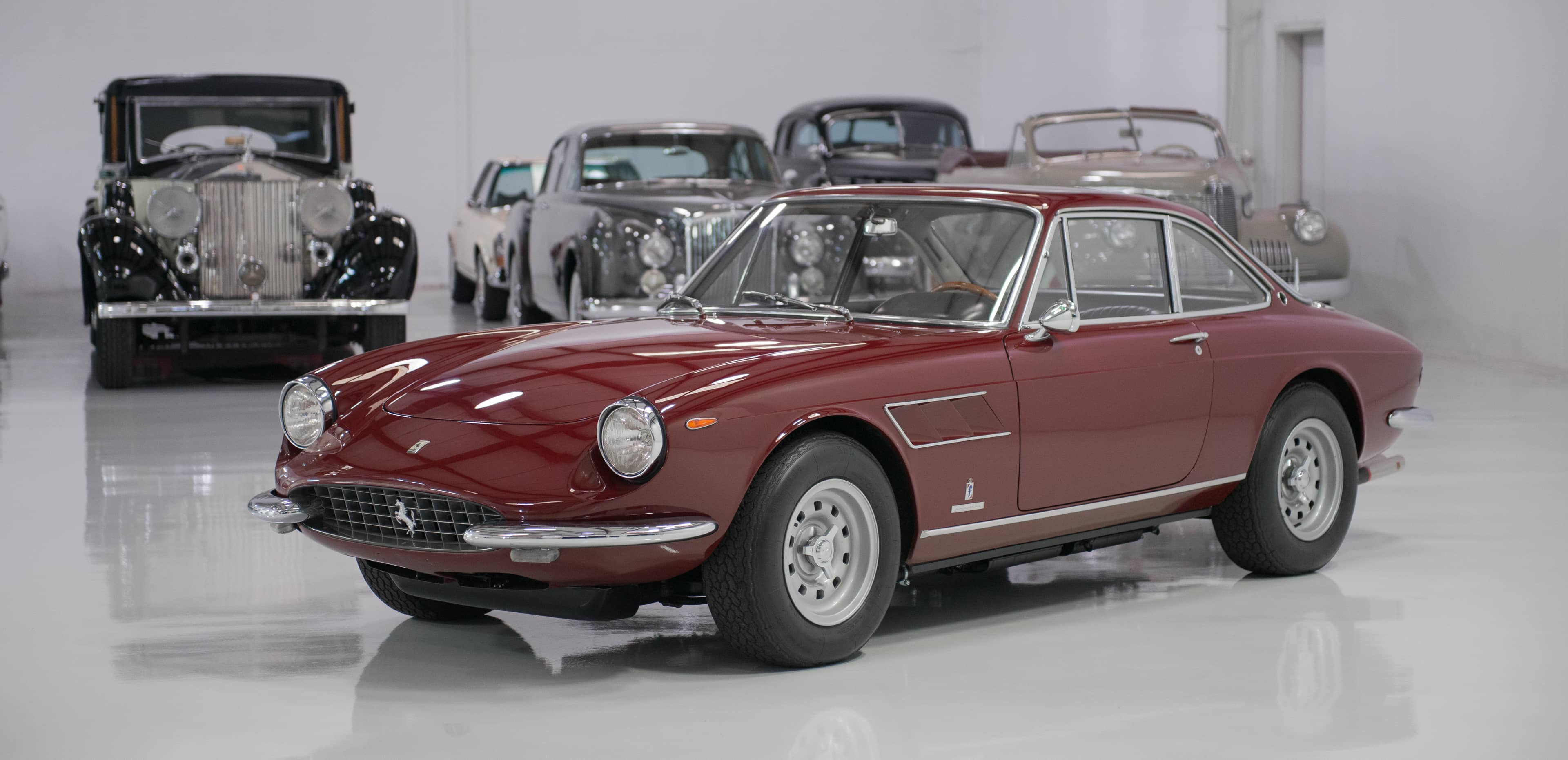 Premium collector cars for sale, classic ferrari, Daniel Schmitt & Co. St. Louis