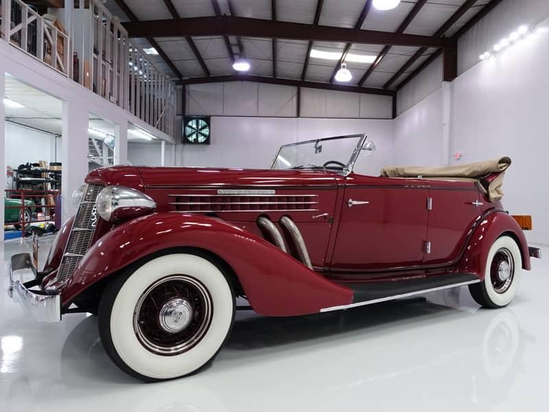 1936 Auburn 852 Supercharged Dual-Ratio Phaeton Sedan