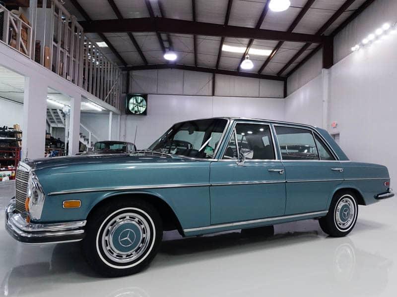 1971 Mercedes-Benz 280SEL Elvis Presley for Sale Daniel Schmitt & Co. Classic Car Gallery St. Louis, elvis car for sale, elvis mercedes benz for sale, classic benz
