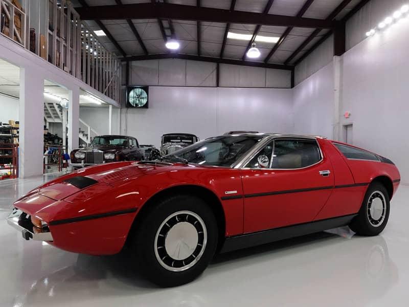 1974 Maserati Bora 4.9 Coupe