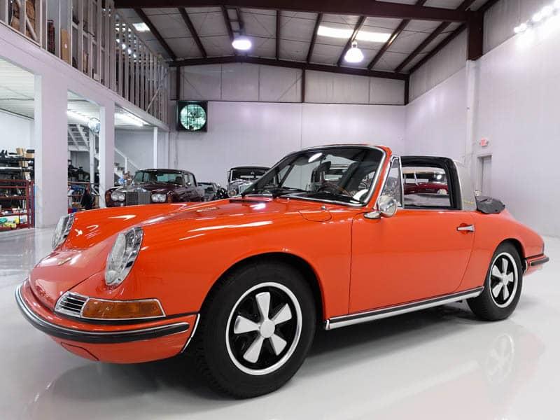 1968 Porsche 911s Soft Window Targa Daniel Schmitt Amp Company