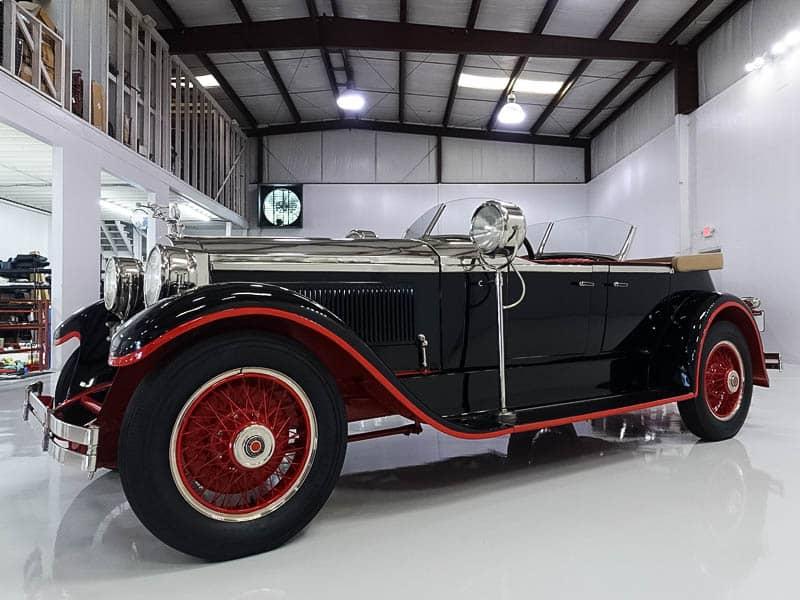 1927 Packard 336 Dual Cowl Sport Phaeton body by Holbrook from Daniel Schmitt & Co.