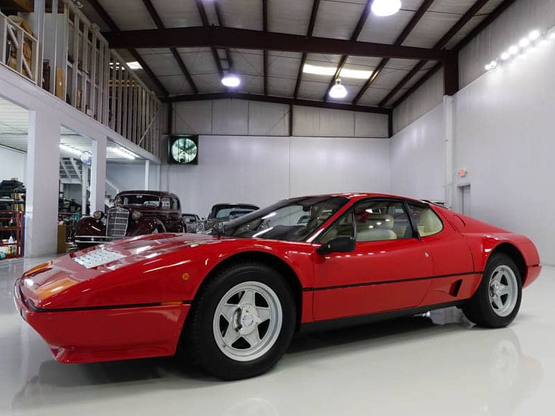 1984 Ferrari 512BBi Daniel Schmitt & Co. Classic Car, Luxury Car Gallery St. Louis