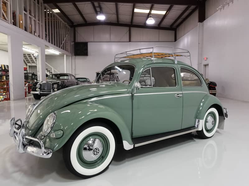 1957 Volkswagen Oval Window Beetle for sale Original Interior ...