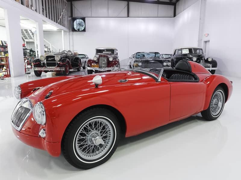 1958 MG MGA \'LEMANS\' RACE CAR — Daniel Schmitt & Company