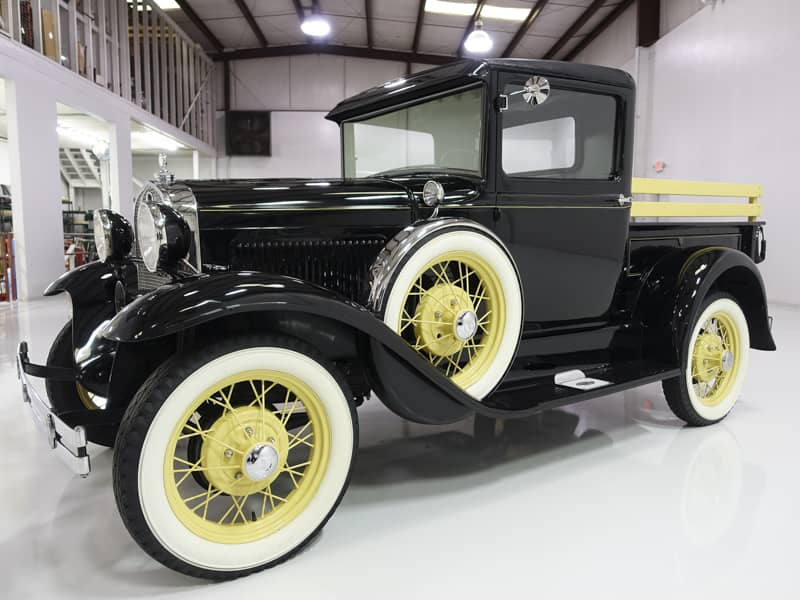 1931 Ford Model A Closed Cab Pickup Truck