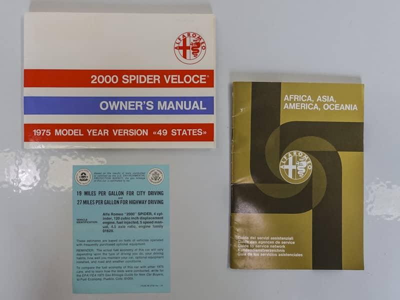 1975 ALFA ROMEO 2000 SPIDER – Daniel Schmitt & Co  Classic