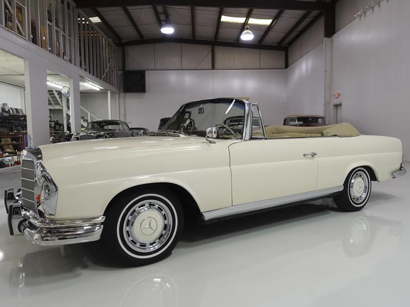 Daniel Schmitt & Co. Classic Car Gallery Presents 1963 MERCEDES-BENZ 220SEB CONVERTIBLE