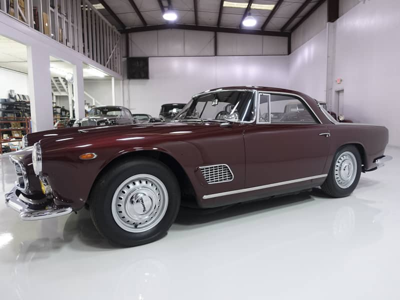 Daniel Schmitt & Co. presents 1960 Maserati 3500 GT Coupe by Touring
