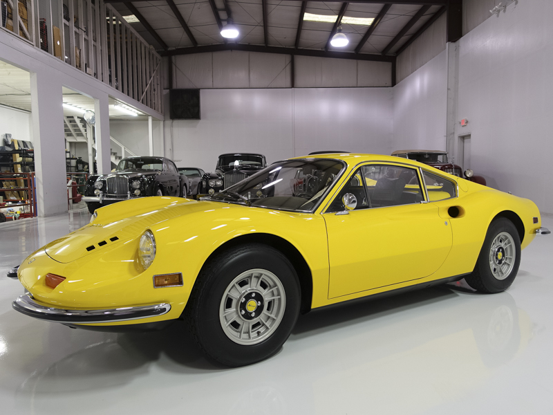 Daniel Schmitt and Co. Classic Car Gallery St. Louis is pleased to offer this beautifully restored 1971 Ferrari Dino 246 GT which is among one of the finest examples we have seen in many years!