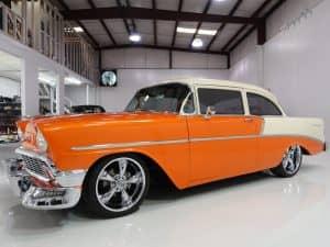 1956 chevrolet 210 Coupe Custom