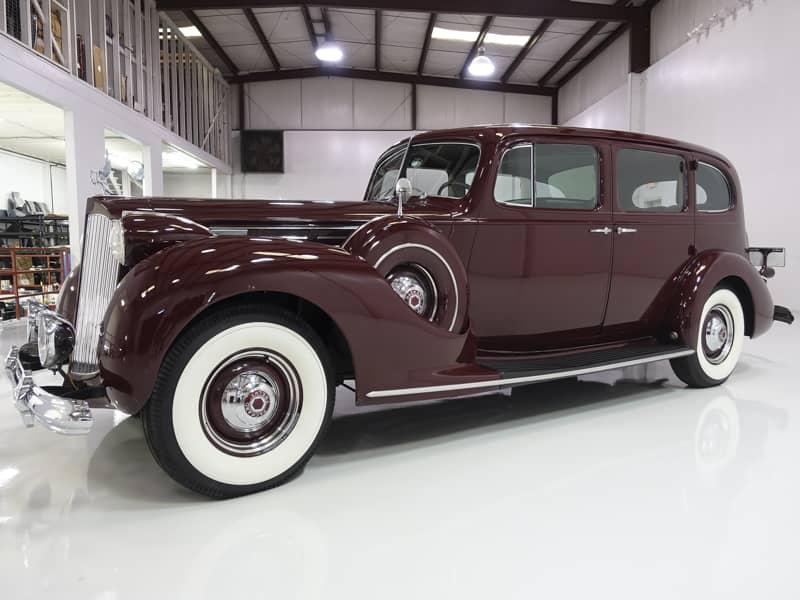 1938 Packard 12 Model 1608 Limousine