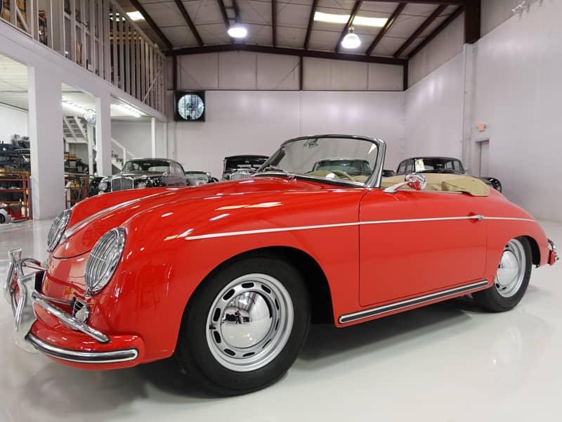 1959 Porsche 356A/1600 Convertible D from Daniel Schmitt & Co. Classic Car Gallery