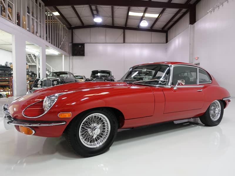 1969 Jaguar E-Type Series II 2+2 Coupe