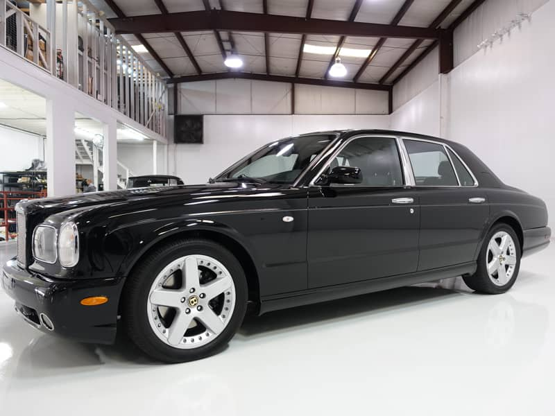 2003 Bentley Arnage T Mulliner Twin Turbo for sale from Daniel Schmitt & Co. Classic Car Gallery St. Louis