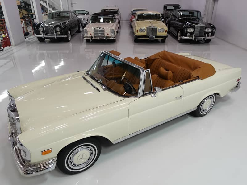 Classic 1969 Mercedes-Benz 280SE Cabriolet For Sale
