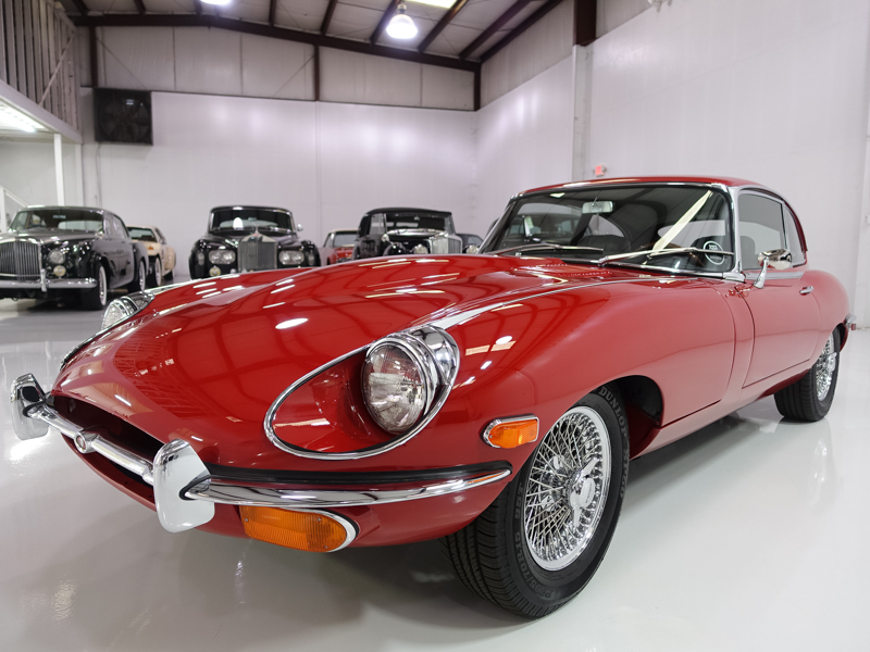 Classic Jaguar Inventory Available Now