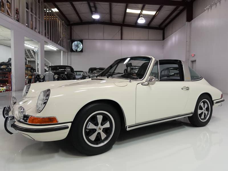 1968 porsche 911s targa rare euro spec 911s for sale daniel schmitt co classic car gallery. Black Bedroom Furniture Sets. Home Design Ideas