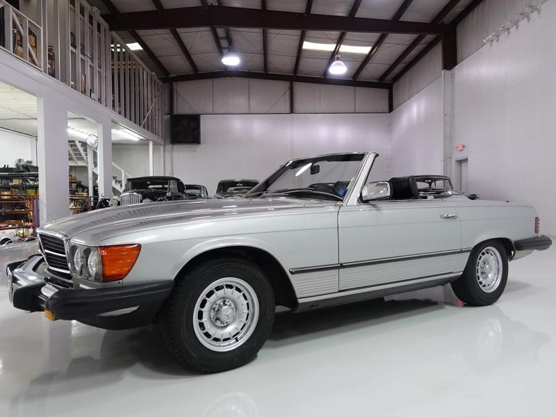 1985 Mercedes-Benz 380SL Convertible