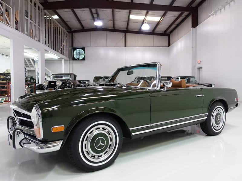 1971 Mercedes-Benz 280SL Roadster for sale by daniel schmitt & co. classic car gallery st. louis, classic mercedes-benz for sale 1971 benz for sale