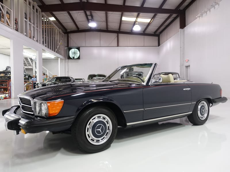 1975 mercedes benz 450sl roadster daniel schmitt company for 1975 mercedes benz 450sl convertible