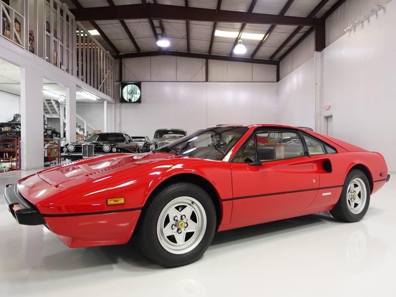 1982 Ferrari 308 GTBi Coupe for sale Daniel Schmitt & Co. Classic Car Gallery, Classic Ferrari Rosso Corsa