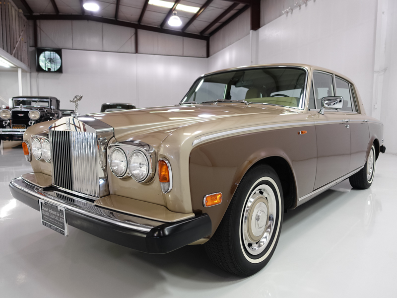 1980 Rolls Royce Silver Shadow, Daniel Schmitt & Co. Classic Car Gallery St. Louis