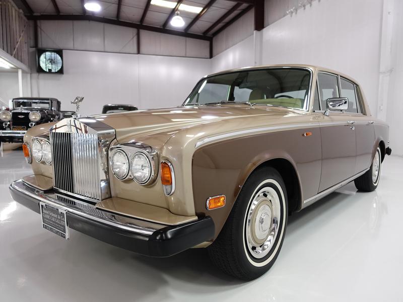 1980 Rolls Royce Silver Shadow, Daniel Schmitt & Co. Classic Car Gallery St. Louis