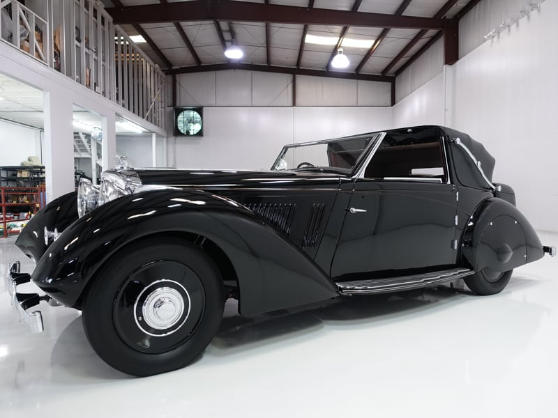 1936 Bentley 3 ½ Litre Sedanca Coupe by Windovers for sale Daniel Schmitt and co. classic bentley for sale, bentley sedanca for sale, daniel schmitt cars
