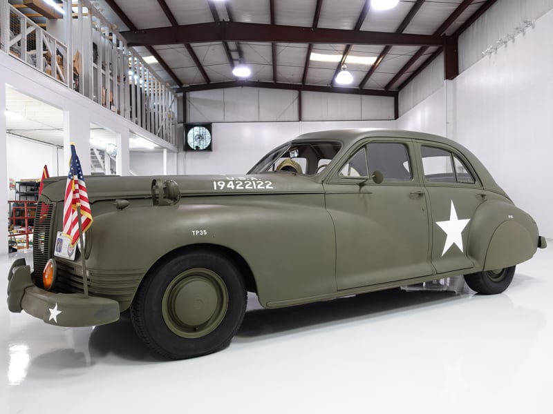 11947 Packard Custom Super Clipper Eight Army Staff Car for sal e at Daniel Schmitt & Co