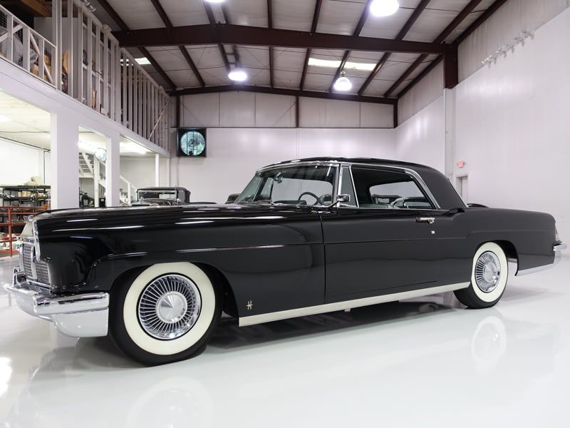 Daniel Schmitt & Co. Classic car gallery st. louis, classic cars for sale, 1956 lincoln continental mark ii coupe, black lincoln continental, classic lincoln from daniel schmitt and co