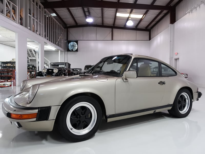 1986 porsche 911 carrera sunroof coupe matching numbers. Black Bedroom Furniture Sets. Home Design Ideas
