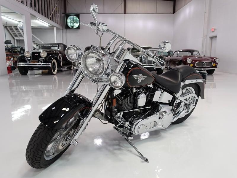 1993 Harley-Davidson Fat Boy Softail for sale at Daniel Schmitt & Co. classic car gallery, classic harley for sale, 1993 harley davidson for sale