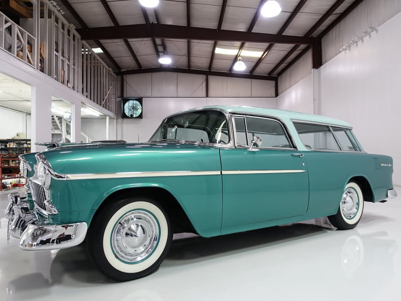 1955 Chevrolet Bel Air Nomad Wagon Daniel Schmitt Amp Co Classic Car Gallery