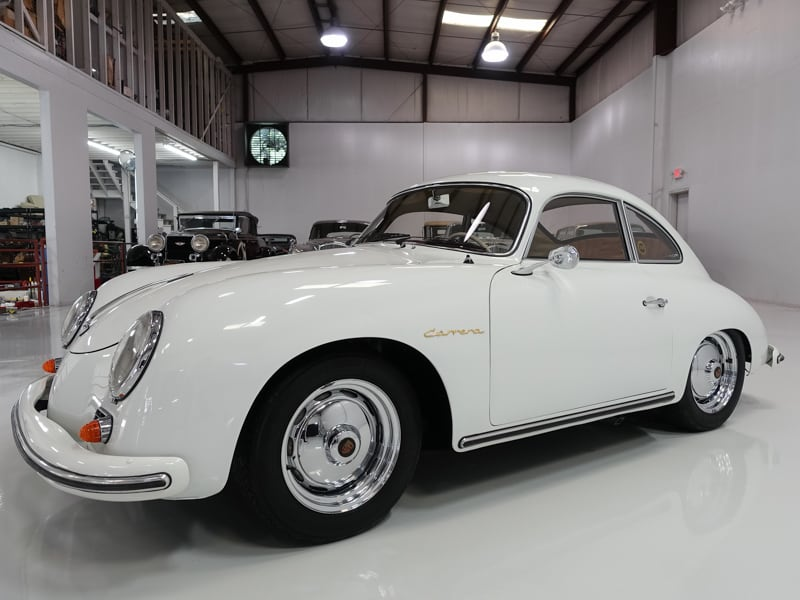 1959 Porsche 356A Carrera 1600 GS Coupe for sale at Daniel Schmitt & Co. Classic car gallery St. Louis, Collector cars for sale