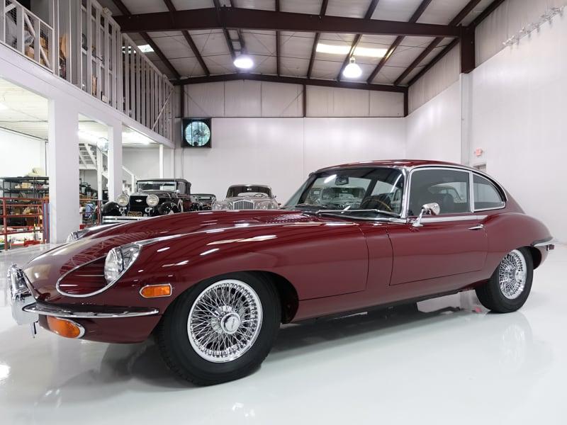 1970 Jaguar E-Type Series II 2+2 Coupe for sale Daniel Schmitt and Co. classic cars, classic jaguar for sale