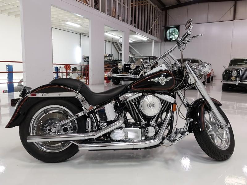 1993 Harley-Davidson Fat Boy Softail daniel schmitt, daniel schmitt & co. classic cars, st louis