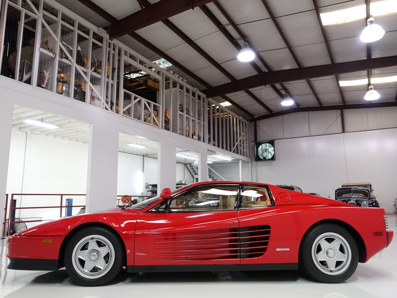 1986 Ferrari Testarossa from Daniel Schmitt & Co. classic cars, luxury car gallery, daniel schmitt classic ferrari for sale