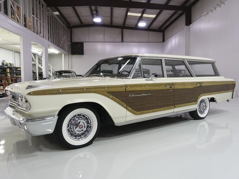 1963 Ford Country Squire Station Wagon 6-passenger for sale Daniel Schmitt and Co. Classic Car gallery