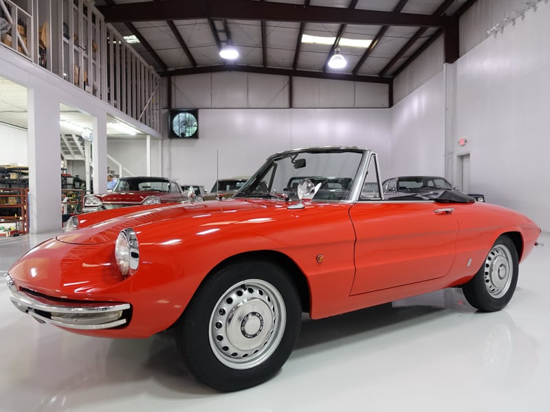 1966 Alfa Romeo Duetto Spider for sale at daniel schmitt & co classic car gallery st louis