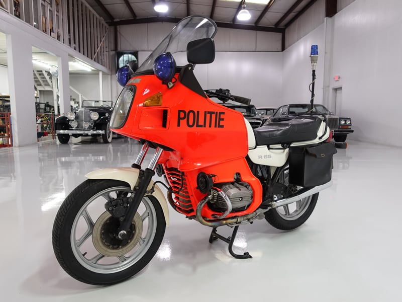1986 BMW R65 Police Motorcycle