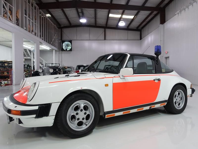 1988 Porsche 911 Targa Police Car
