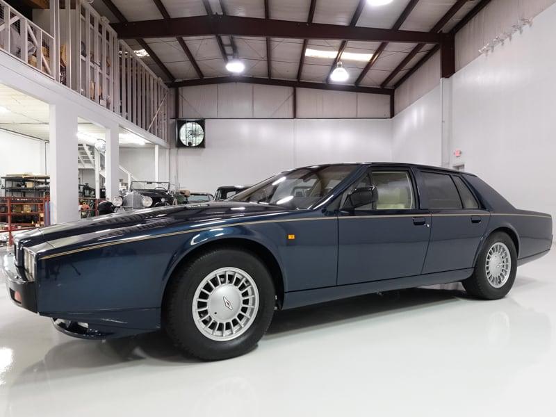 1989 Aston Martin Lagonda for sale Daniel Schmitt & Co. classic car gallery, classic Aston for sale, Aston Martin Lagonda