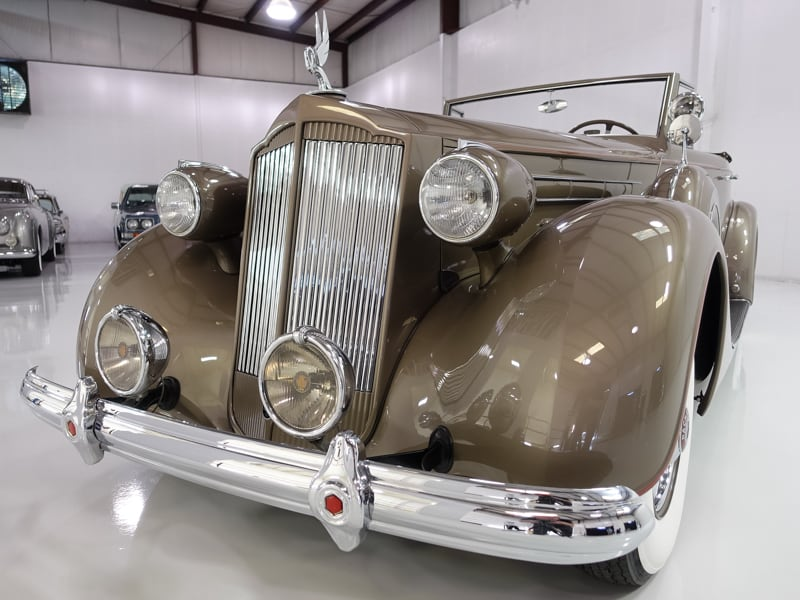 1937 packard twelve coupe roadster for sale daniel for 1937 packard 3 window coupe