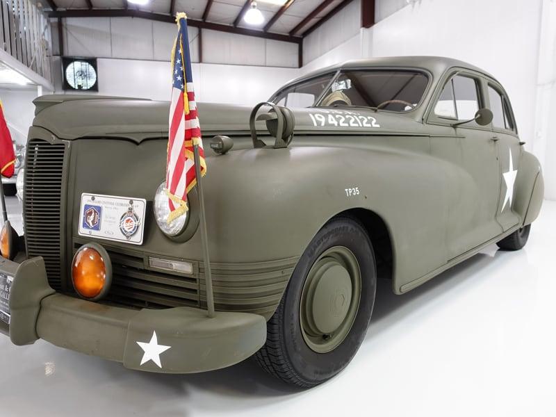 1947 Packard Clipper Custom Super Clipper Eight Army Staff Car: 1947 Packard Custom Super Clipper Eight Army Staff Car, perfect for parades!